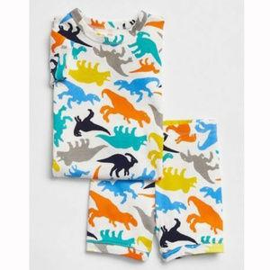 Baby Gap Dinosaur Shorts Pajamas